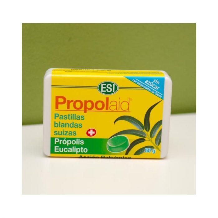 Pastillas blandas propolis eucalipto 50gr