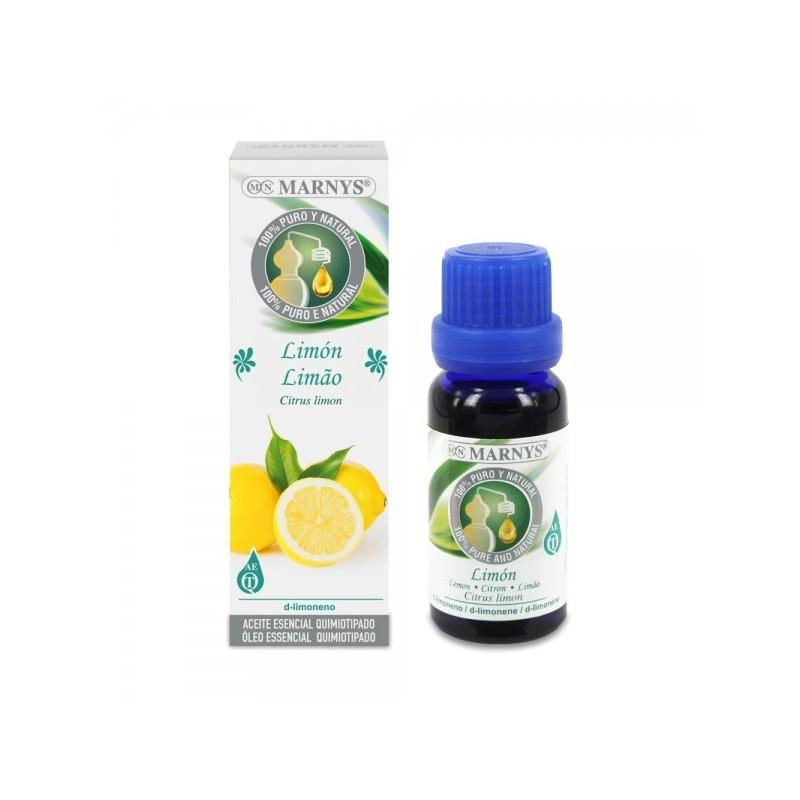 Aceite de limón 15ml. Marnys