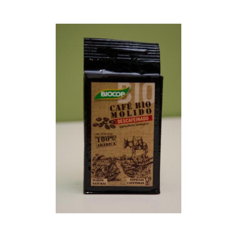 Café molido verde descafeinado 500gr