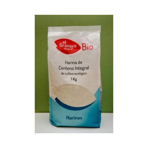 Harina de Centeno integral Bio 1 kg. El Granero