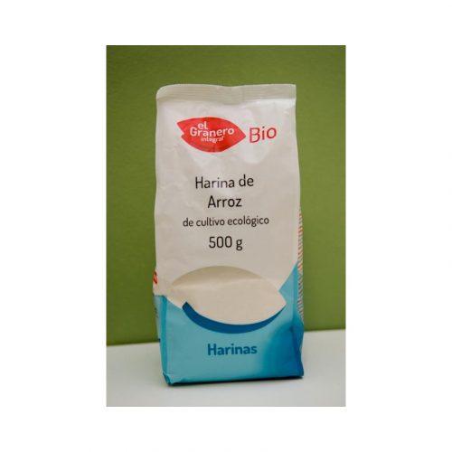 Harina de arroz de cultivo ecológico Bio 500 gr. El Granero
