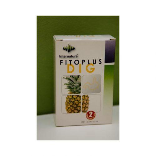 Fitoplus dig 30 cápsulas 15 g Internature