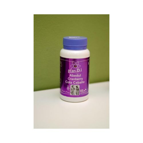 Plan D.I. Abedul, Cranberry y cola de caballo 60 cápsulas 520 mg Planes