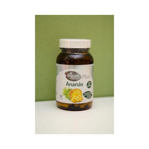 Ananás 90 cápsulas de 500 mg El granero