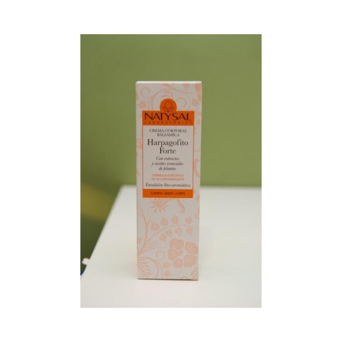 Harpagofito forte crema corporal balsámica 75 ml Natysal