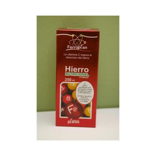 Ferroplan Hierro nutricional vitaminas 250 ml Planes