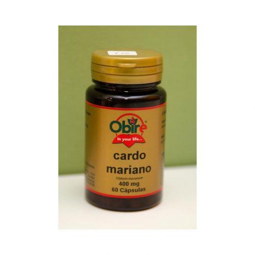 Cardo mariano 60 cápsulas 400 mg Obire