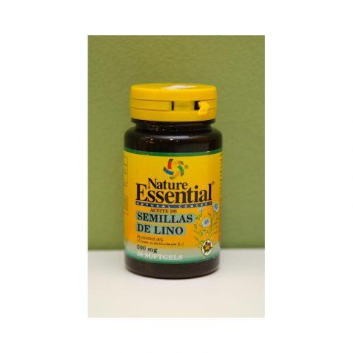 Semillas de lino 50 perlas de 500 mg Nature essential