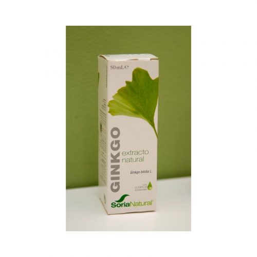 Extracto natural de Ginkgo 50 ml Soria natural