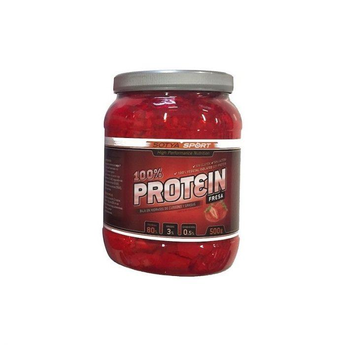 Proteína 100 % fresa 500 gr. Sotya sport