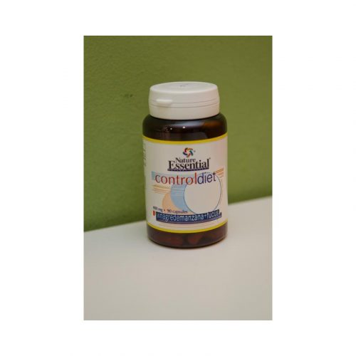 Control diet vinagre de manzana + fucus 90 cápsulas de 400 mg Nature essential