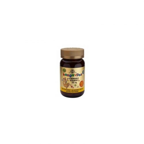 Kangavites vitamina C masticable 90 comprimidos de 100 mg. Solgar