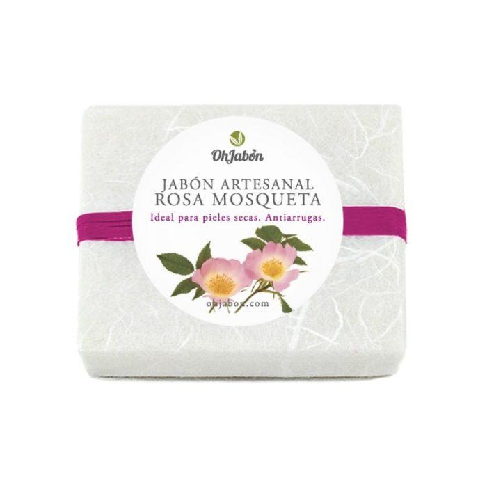 Jabón de rosa mosqueta 100 gr. Santiveri