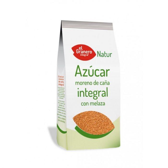 Azúcar moreno integral de caña con melaza 1 kg. El Granero