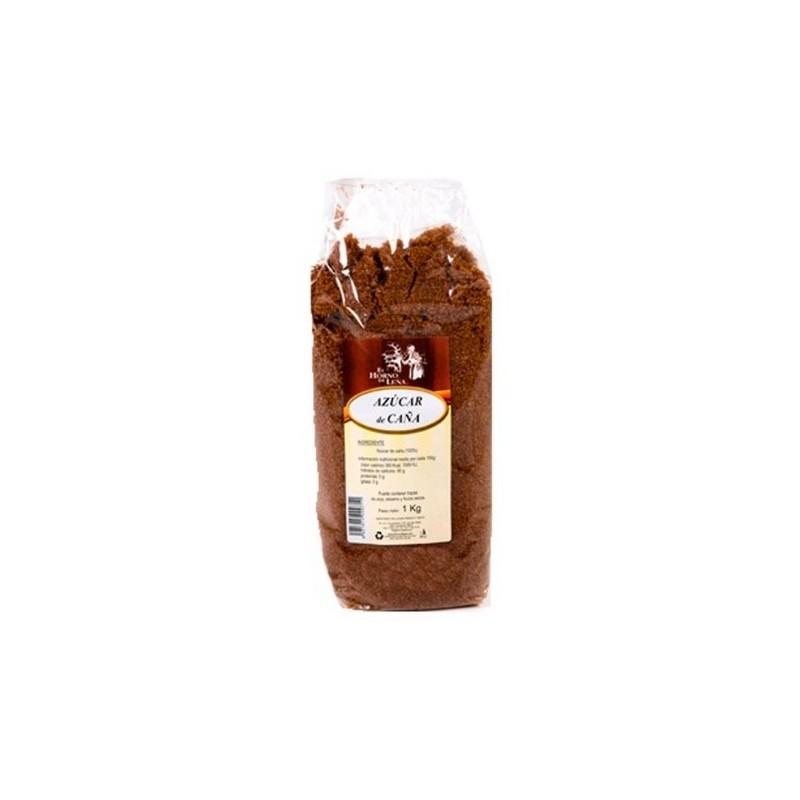 Azúcar integral de caña con melaza 1 kg. El Horno de Leña