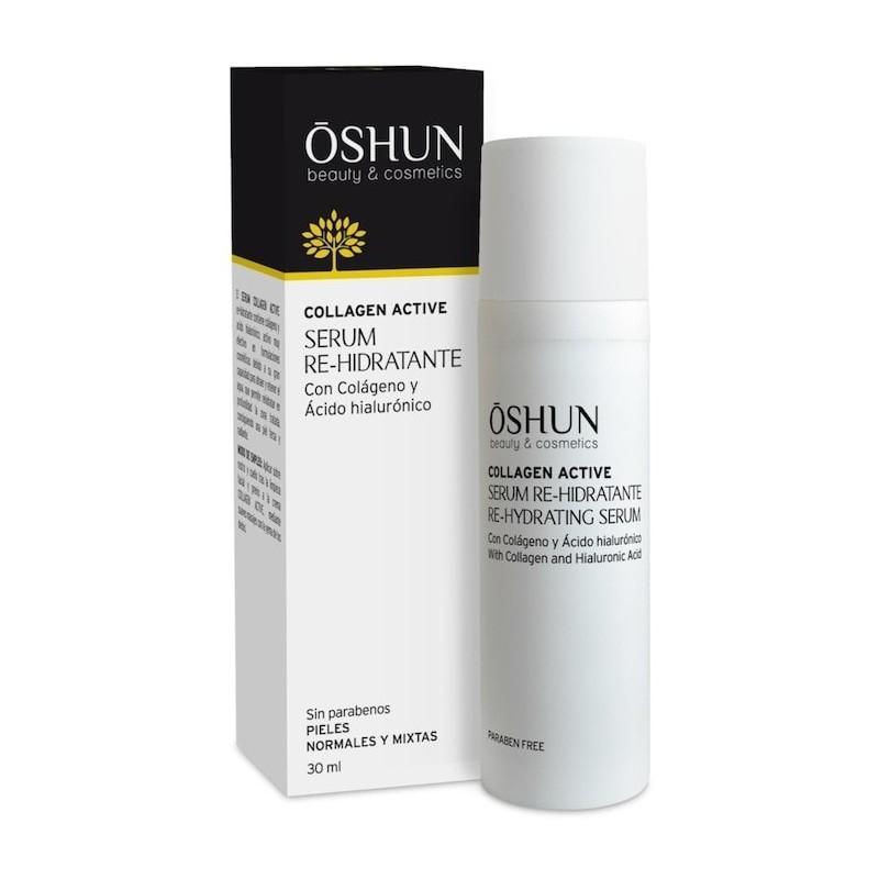Serum Re-hidratante con colágeno y ácido hialurónico 30 ml. Oshun