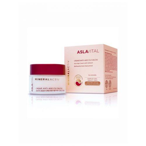 Crema antiedad con calcio mineralactiv 50 ml. Aslavital