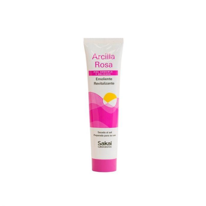 Arcilla rosa emoliente, revitalizante piel sensible y delicada 100 gr. Sakai