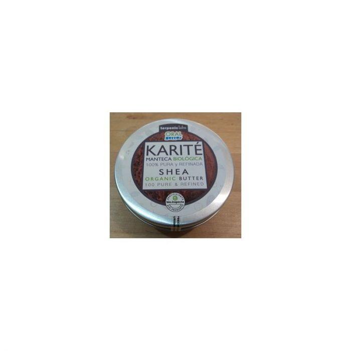 Manteca de karité biológica 100 % pura y refinada 200 ml. Terpeniclabs