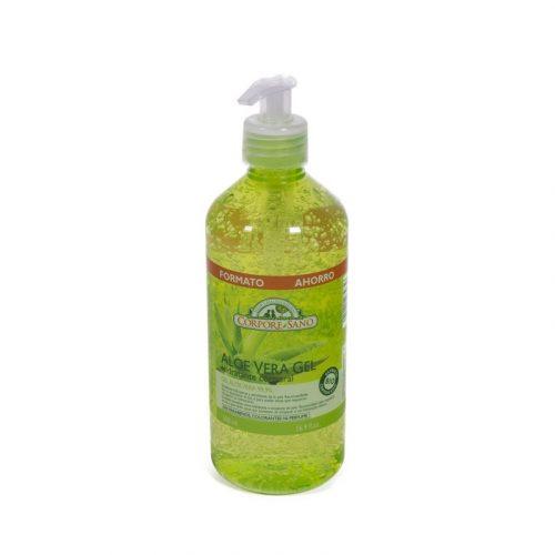 Gel de aloe vera hidratante corporal sin parabenos 300 ml. Corpore Sano