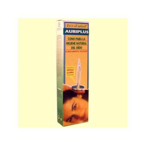 Cono para la higiene natural del oído, 2 dispositivos. Auriplus