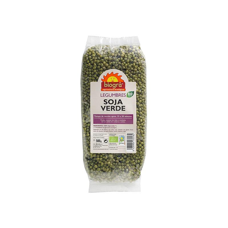 Soja verde (judía mungo) bio 500 gr. Biográ