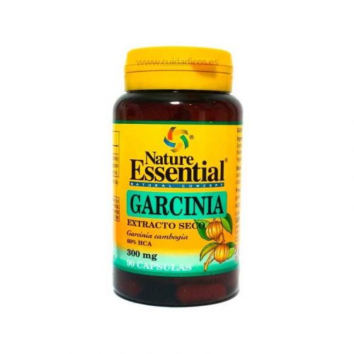 Garcinia cambogia extracto seco 60 % HCA 90 cápsulas 300 mg. Nature Essential