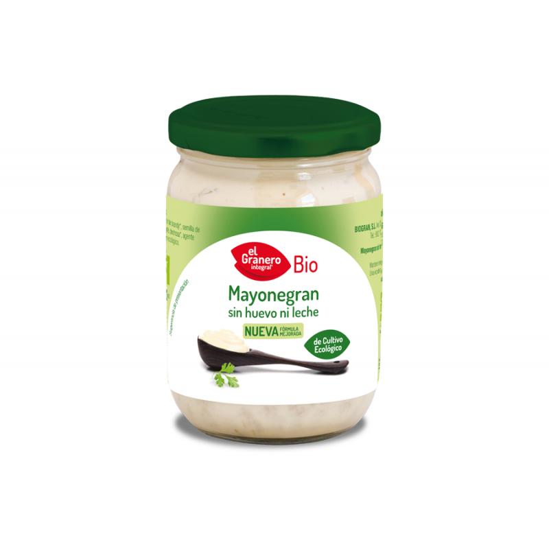 Mayonesa de cultivo ecológico 340 gr. El Granero