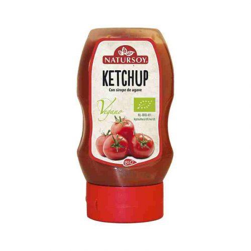 Ketchup con sirope de ágave bio 300 mg. Natursoy