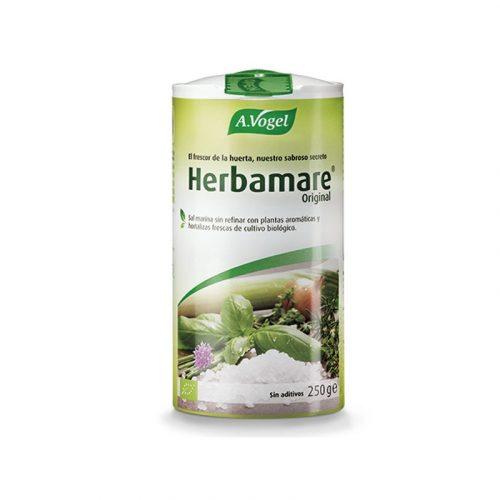 Sal marina sin refinar con plantas aromáticas Herbamare sin aditivos 250 gr. A. Vogel