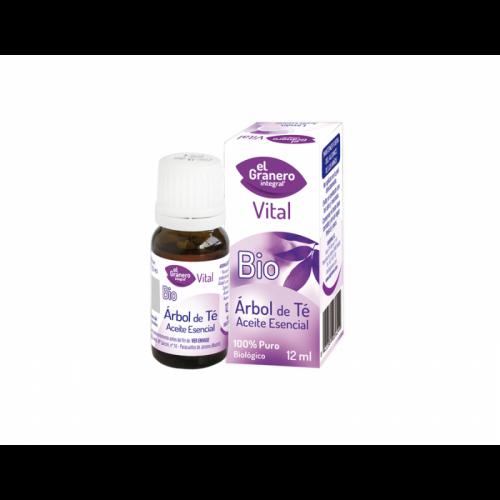 Aceite esencial de árbol de té 12 ml. El Granero Integral