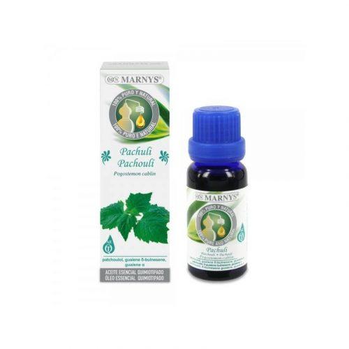 Aceite esencial de pachuli 15 ml. Marnys