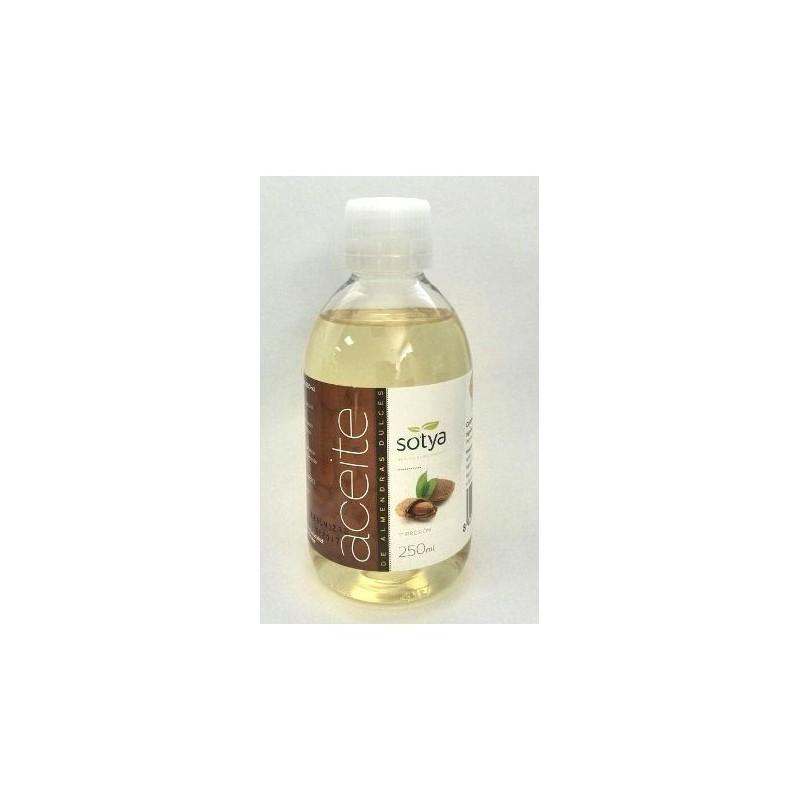 Aceite de almendras dulces 250 ml. Sotya