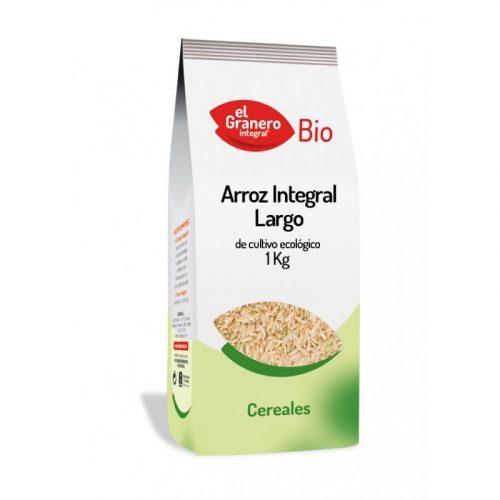 Arroz integral largo de cultivo ecológico 1 kg. El Granero Integral