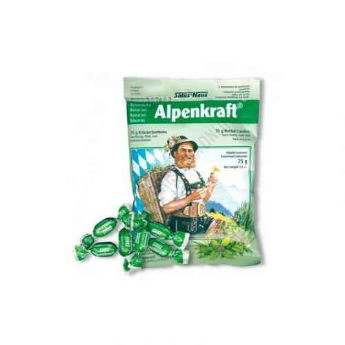 Caramelos balsámicos de hierbas Alpenkraft 75 gr. Salus