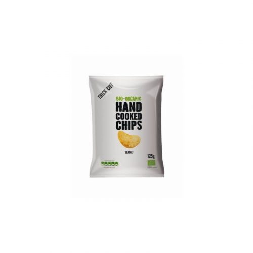 Patatas hand cooked chips bio-organic 125 gr.