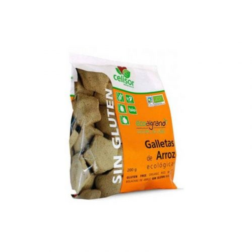 Galletas de arroz ecológicas 200 gr. Celisor Soria Natural