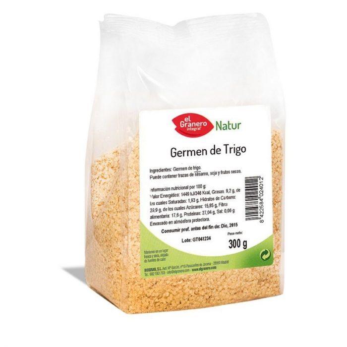 Germen de trigo 300 gr. El Granero Integral