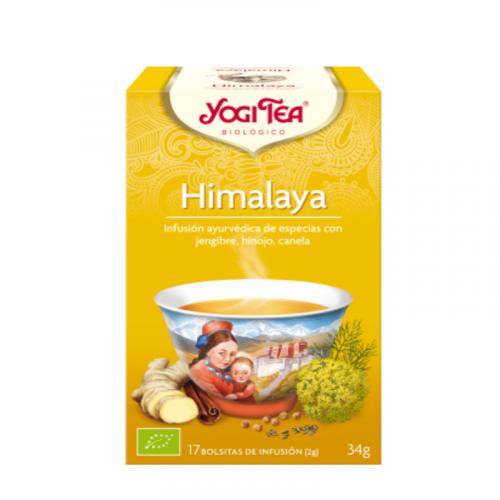 Himalaya infusión ayurvédica de especias 17 bolsitas 34 gr. Yogi Tea