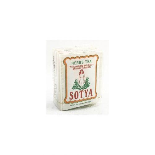 Té de Hierbas naturales 10 bolsitas 1.5 gr. Sotya
