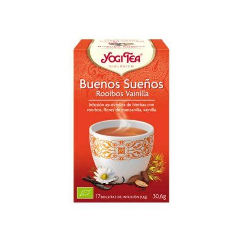 Buenos Sueños infusión ayurvédica de hierbas 17 bolsitas 30.6 gr. Yogi Tea