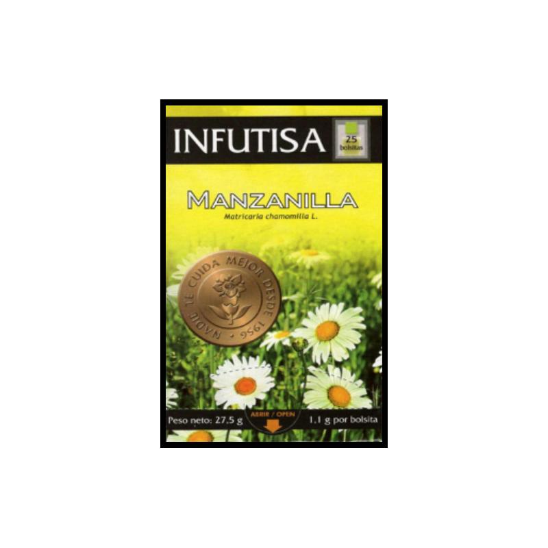 Infusión de Manzanilla 25 bolsitas 27.5 gr. Infutisa