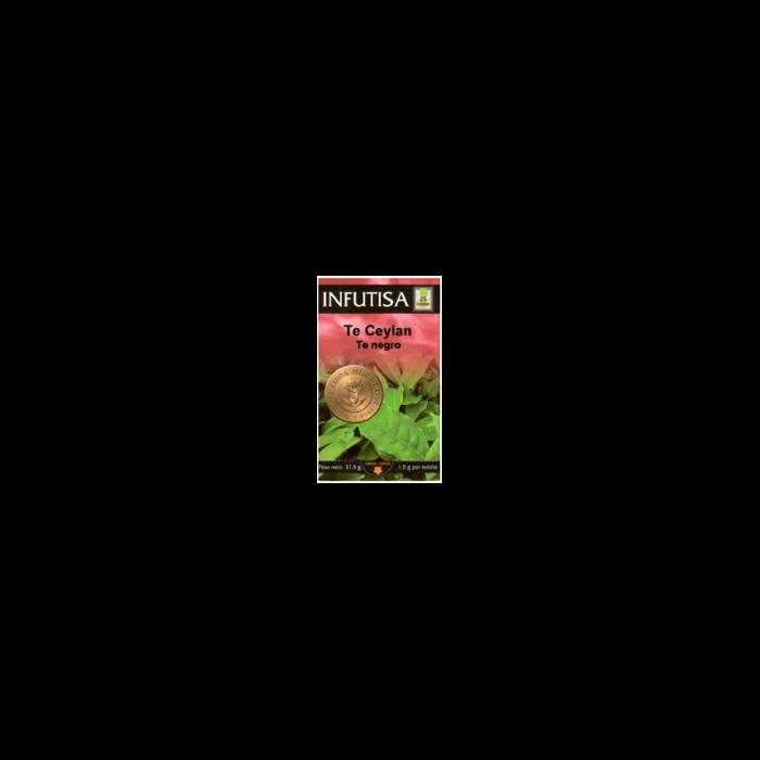 Té Ceylan (Black Tea) 25 bolsitas 1.3 gr. sobre. Infutisa