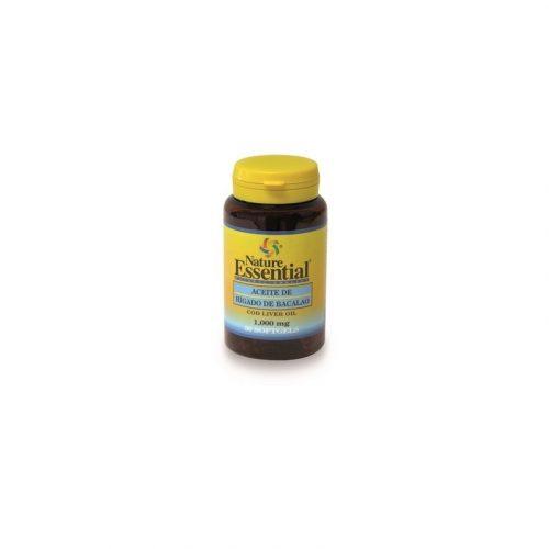 Aceite de hígado de bacalao 1000 mg, 30 perlas. Nature Essential