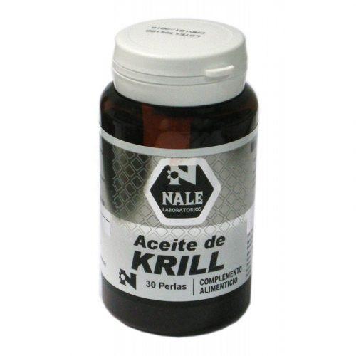 Aceite de Krill rojo 30 perlas. Nale