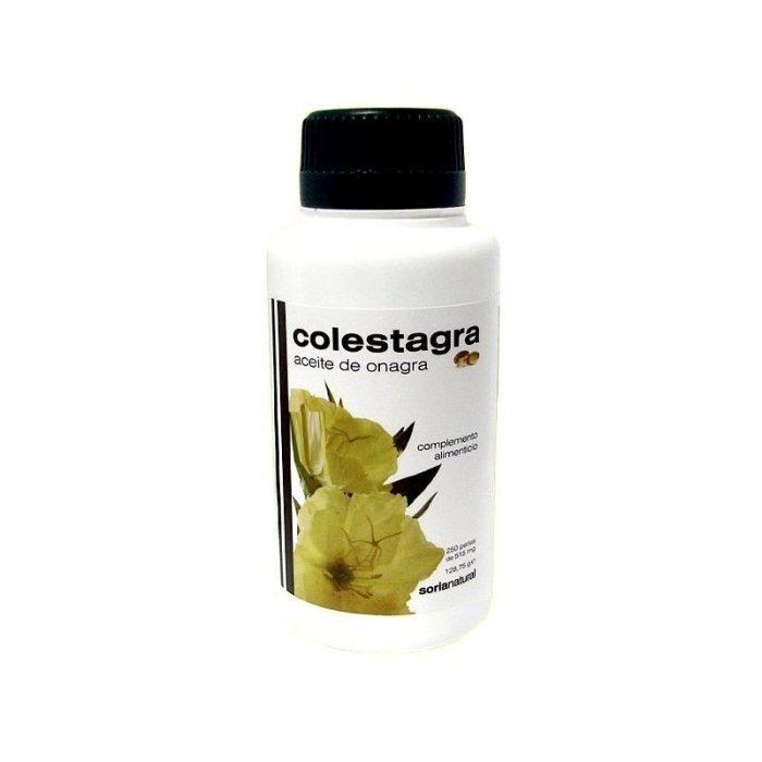 Aceite de onagra colestagra 250 perlas. Soria Natural