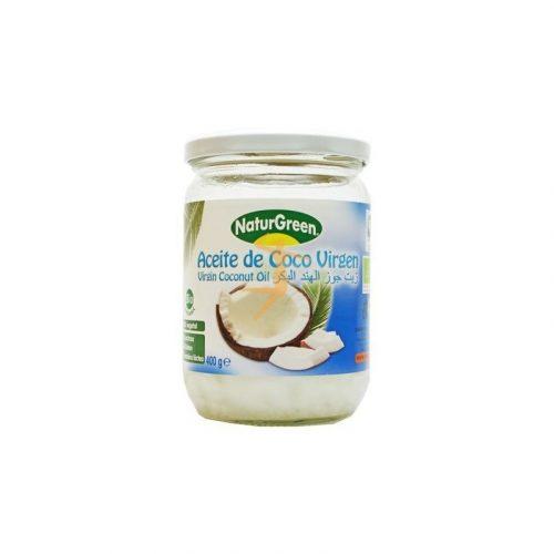 Aceite virgen de coco bio 400 gr. Naturgreen