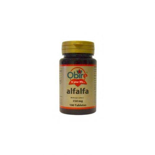 Alfalfa 350 mg 100 tabletas. Obire