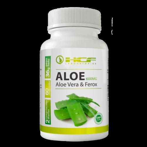 Aloe vera y ferox 600 mg. 60 comprimidos. HCF