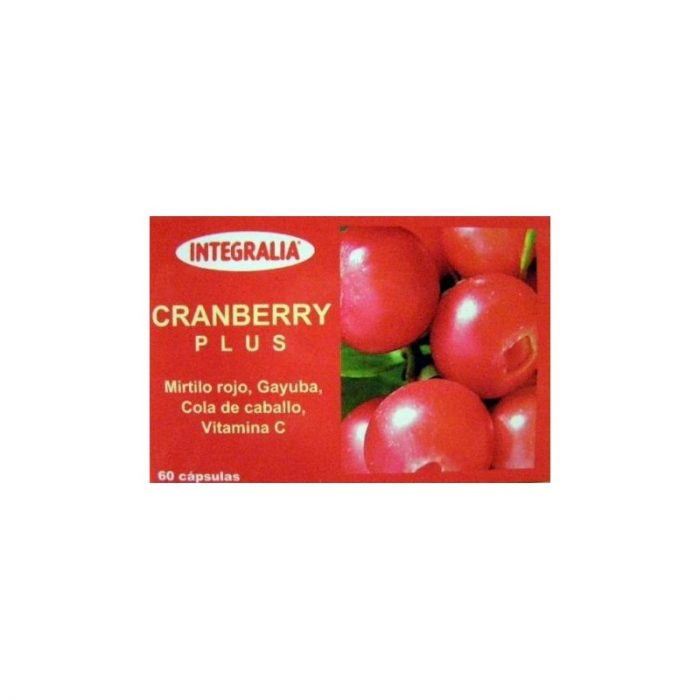 Arándano cranberry plus 60 cápsulas. Integralia